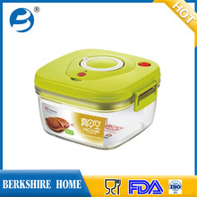 Hot gift plastic Vacuum food container keep food fresh with 4 size