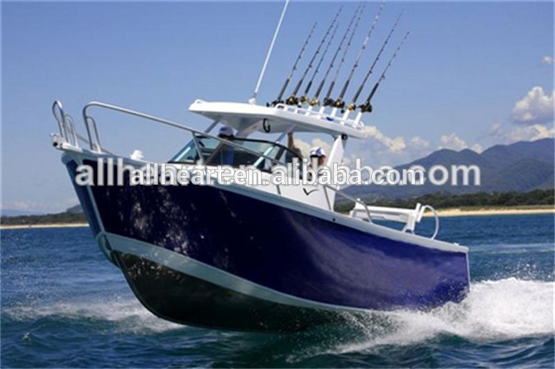 Aluminum Boats With Steering Console Outboard Power/alloy ...