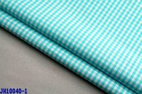 40X40 133X72 yarn dyed small check poplin fabric