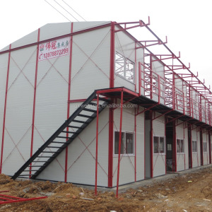 Light steel prefab homes kit homes designs for Ghana, saudi arabia qatar worker labor camp prefabricated house