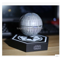 Hot sales death star shape magnetic levitation wireless bluetooth speaker