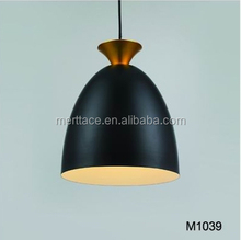 Vanity over table hanging metal shade modern pendant lamp