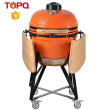 TOPQ charcoal grill outdoor ceramic kamado smoker self balancing scooter bbq