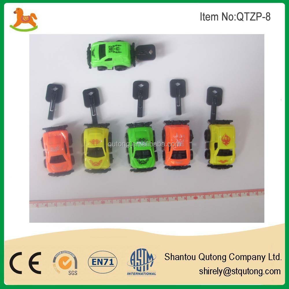 3D small cheap pull back car promotion toy for kid