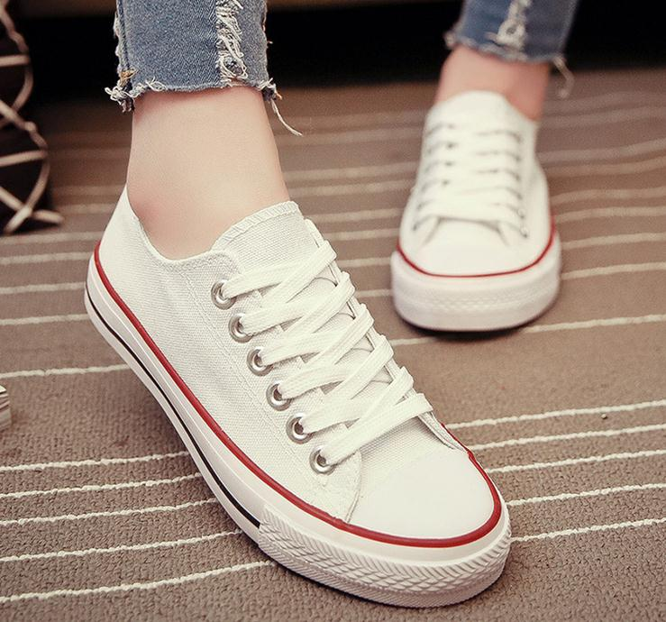 wholesale china women canvas shoes lady fashion shoes
