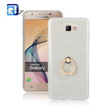 2017 new arrival low moq bling glitter phone case soft tpu kickstand mobile case for samsung j7 prime
