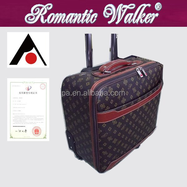 computer luggage ;EVA trolley bag ;2014 fashion luggage trolley