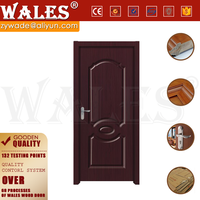 Chinese style custom residential entrance teak wood carving doors