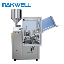 plastic tube filling and sealing machine cosmetic tube filler and sealer