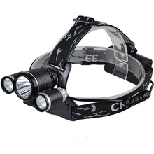 Hot Powerful 2000 Lumens Rechargeable Zoomable Camping Led Headlamp