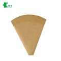 customized cardboard brown kraft food paper crepe cone