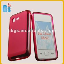 for Samsung Star 3 Duos S5222 Tpu Skin Case Cover