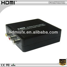 wholesale mini hdmi cable to av cable converter 1080p Which Can Convert Composite RCA Video(CVBS) to HDMI