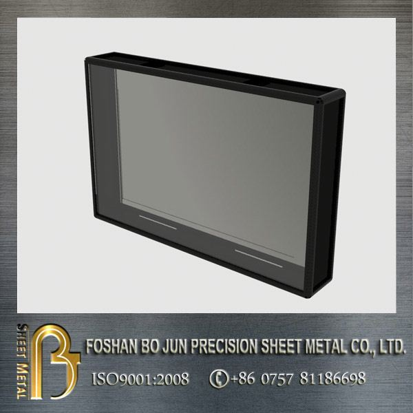 LED water, dust, and tamper proof lcd monitor enclosure