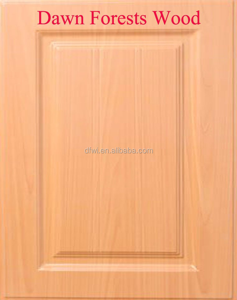 PVC kitchen cabinet door with MDF core