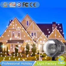 Snow show outdoor projector Christmas light led stick