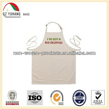 High quality personalized kitchen cotton apron