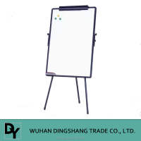 High Quality Flip Chart Tripod stand high adjustable magnetic whiteboard flip chart easel stand