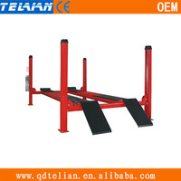 movable hydraulic 4 post car lift,home car lift