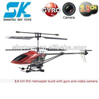 JXD rc with camera 355 wireless rc helicopter with camera and gyro remote control helicopter r/c helis toy