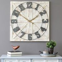 06055 rustic large wall clocks home decor different design clock