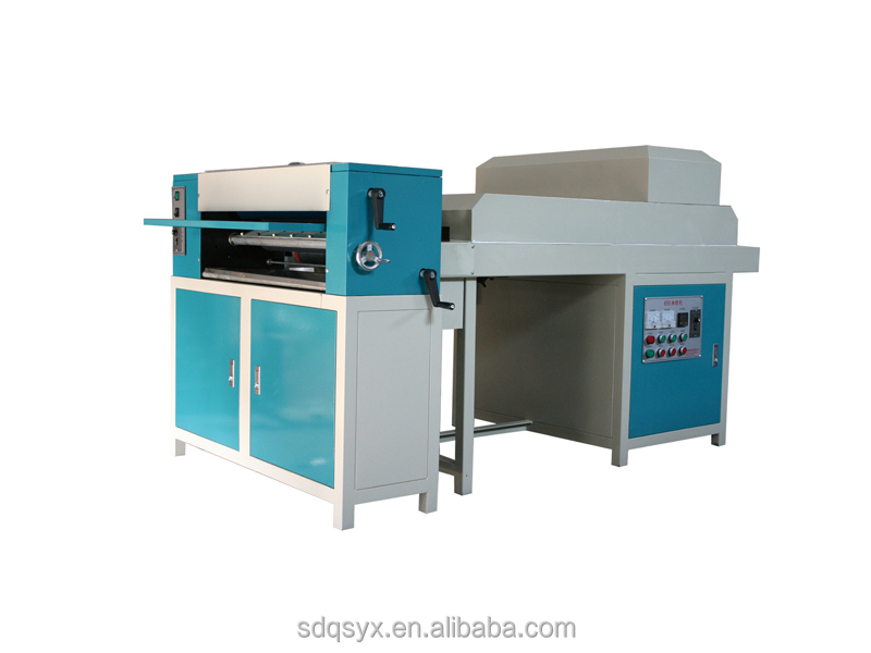 With CE mark Qiangsheng 650 UV coating machine for album photo by manufacture