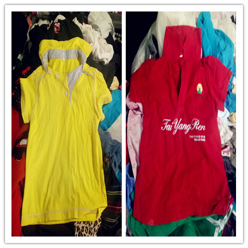 Cheapest free used clothes baby shirts in bundles polo t shirt