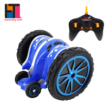 china wholesale cool 2.4g rolling rc model toys remote control stunt car for kids