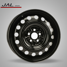 6.5x16 Inch Black Steel Snow/Winter/Auto Wheel Rims