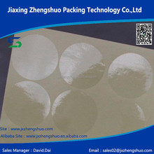 self adhesive transparent pvc film with yellow liner