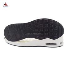 Low Price PU Air Cushion Sport Shoe Soles,Wholesale Breathable Running Air Pu Sport Shoe Sole For Sale