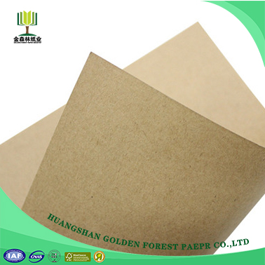 New arrival Coated Kraftliner unbleached kraft paper for gravure printing suppliers