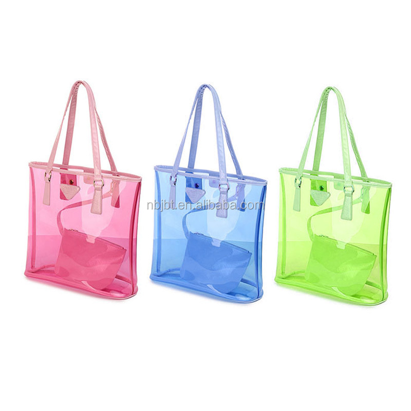 Promotion Gift Item Custom Promotion Transparent Pvc Beach Bag