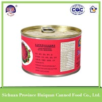 China supplier spiced pork cubes canned foods name brand