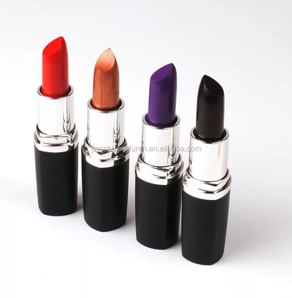 Private label making your own dumb light red lipstick tube low prices and high quality