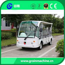 Customerized Right Steering System Electric Tourist Coach 15 Passengers GD14 72V 5Kw