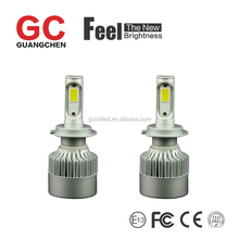 2017 the newest high power car led headlight H7 6000k 36w 4000LM