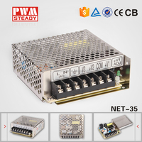 Steady CE Approved NET-35D 12 24 48v input 5v 12v 24v output ac dc power supply