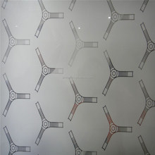 light acid etched glass ,exterior interior doors, milky color glass