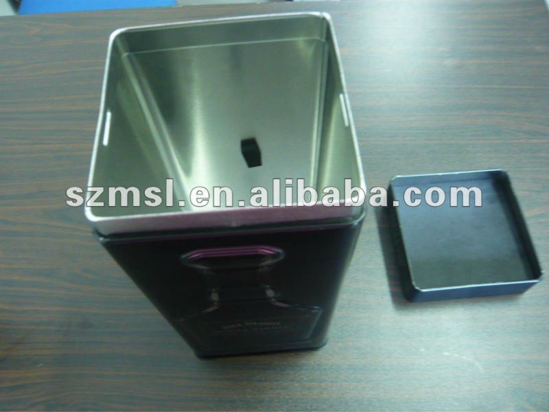 Square Wine Can with Plug-Inner Lid, Jack Danniel's Wine Can