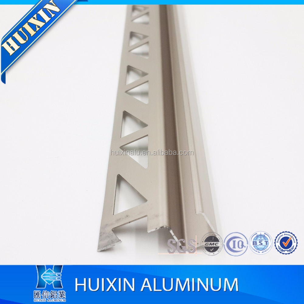 Good quality 6063T5 Anodized silver aluminum manufacture
