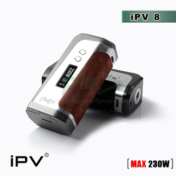 From Original Factory iPv8 200watt tc box mod with YiHi SX330-F8 Chipset High quality iPV8 200w tx boc mod iPV 8 Wholesale iPV8