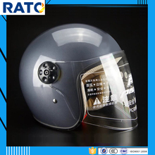 Gray half face motorcycle helmet for sale cheap