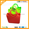 FDA & LFGB approved waterproof candy color silicone beach bag