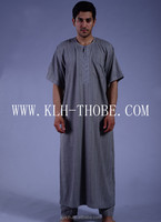 abaya for mens, Embroidery thobe