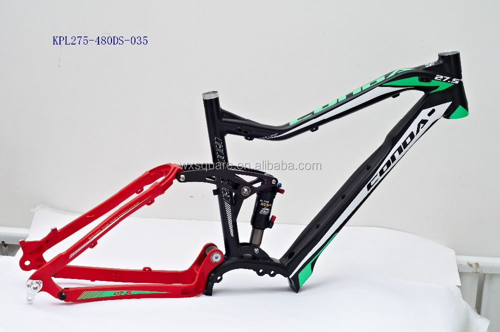 "Beautiful new design 27.5"" suspension alloy 6061 bicycle frame"