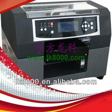 Hot sale A4 size digital flatbed printer, direct to garment printer, t shirt printing machine A4-LK230