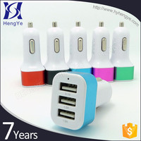 2016 China hot selling newest product 3 port usb electric toy car battery charge for iphone5
