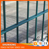 Powder Coated Welded Iron Wire Mesh Double Wire Fence