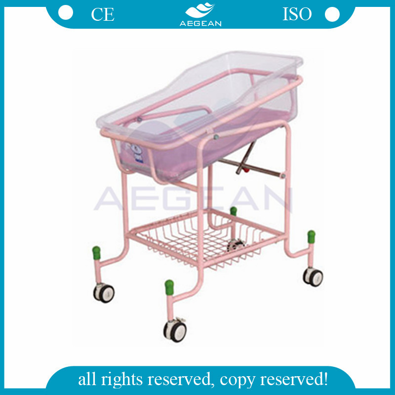 AG-CB010 CE&ISO hospital approved portable baby cot baby bedding set